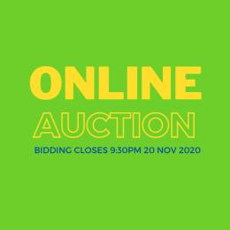 ONLINE Auction Button